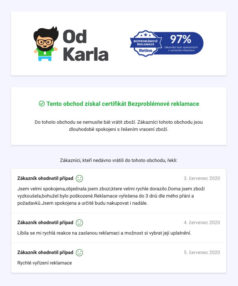 Zvyšte důvěryhodnost vašeho e-shopu díky certifikátu Bezproblémové reklamace