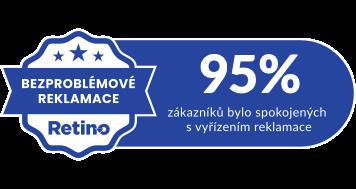 Retino oceňuje nejlepší e-shopy certifikátem Bezproblémové reklamace
